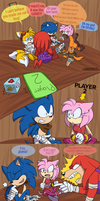 Sonic Boom: Kiss and Tell by E-vay