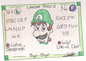 WeeGee Board by HamSamwich