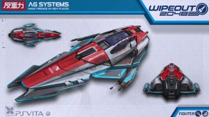 AG Systems Fighter - Wipeout2048 - PSVita by nocomplys