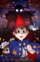 new over the garden wall poster by SelanPike