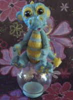 polymer clay ooak dragons by crazylittlecritters