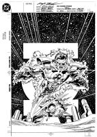 Green Lantern no. 50 cover by Bankster