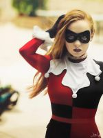 Harley Quinn Cosplay Test Shot by SNTP
