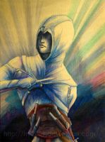 Assassin Creed-Altair by hy2009