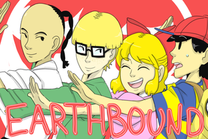 Tsuritama X Earthbound by WolfyTails