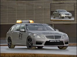 Mercedes E-Class F1 Medi-Car by Car-Mad-Mike