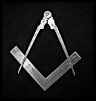 Compass and Square circa 1920's by SaraAnnDiPity