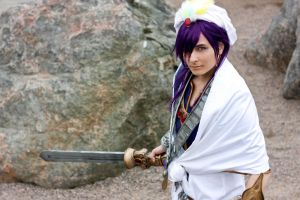 COSPLAY: Sinbad by regzo