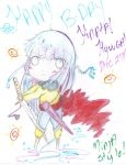 Happy Birthday Hinata-Ninja Style by NelNel-Chan