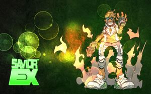 Psyclone EX Wallpaper 1344x840 by PlanetDann