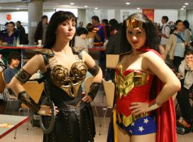 Xena and Wonder Woman NYCCC by BrassIvyDesign