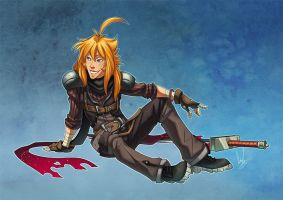 CF, Final Fantasy Style by hellcorpceo