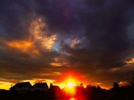 Heaven  on fire by SuperGirlSwag