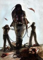 Michonne TWD. by BiondezzA
