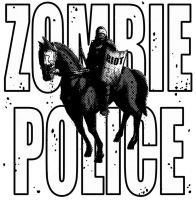 Zombie Riot Police T Shirt by CapnEctoplasm