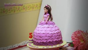 059 - Barbie Doll Cake by AbbyShue