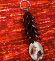 Mother of Dragons Keychain by studioofmm