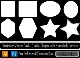 Ai Vector Pack_Basic Shapes by EpicLie