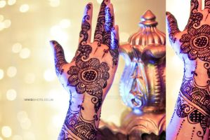 Henna Art on the Hands by VS-SQ