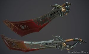 Stylized Pirate Sword by Nosslak