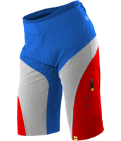 custom mavic stratos shorts blue red white color by mtbboyvt