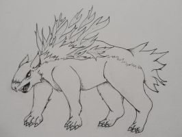Typhlosion WIP by Animal-Amans