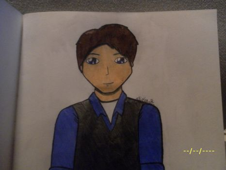 Another Jack Harkness Drawing by Aliciadistrictclove