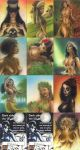 Island Dream Sketch cards by huy-truong