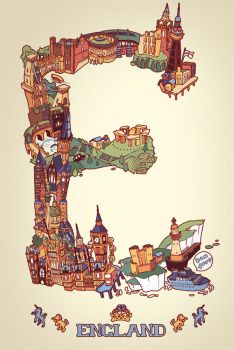 E is for England by kchilt