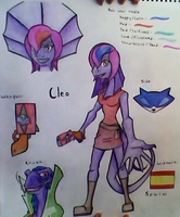 Sly Cooper OC: Cleo by AquaMarie1995