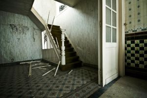 Stairs Doel by AnneWillems