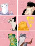 RotG Weasel Valentines by NightmareHound