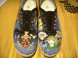 majora's mask shoes:7 by x3KHloverx3