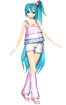 DTE Fluffy Loose Pastel Miku by Sangabc