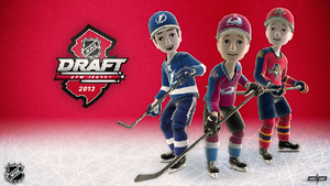 NHL Draft 2013 avatars by disruptivepublishers