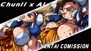 Chunli x ALex H Comission complete by DragoonTequila