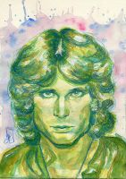 (club 'J' 27) - Jim Morrison by EiSeNfReSsE