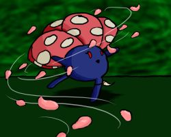 Vileplume used Petal Dance by Kelline