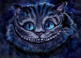 Cheshire Cat by kichinez