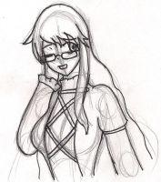 Here's a glasses-Byakuren by GlassMan-RV