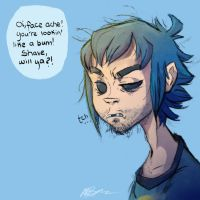 sod off, murdoc by BabyPhat268