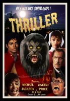 Thriller 1950's poster by smalltownhero