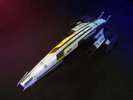 Mass Effect - Normandy SR-2 by theradish01