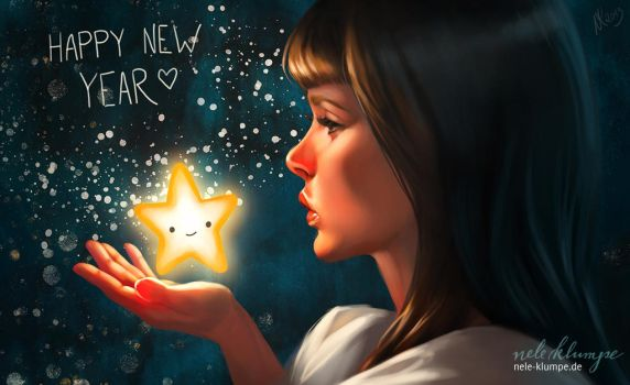 Happy new year 2014 by avisnocturna