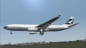 Cathay by Boeing787