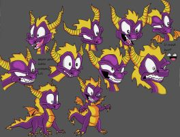 classic spyro pictures by DragonGirlover101