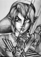 Shadow Link: The Master Sword by LindseyMariie