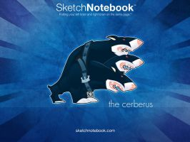 SKNB Desktop Cerberus by WarBrown