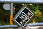 NO Trespassing by FlyteWizard