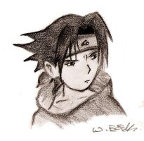 Cute Sasuke by guineapiggin